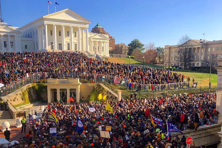 Gun-Rights Groups Activism in Virginia: NRA, VCDL & GOA