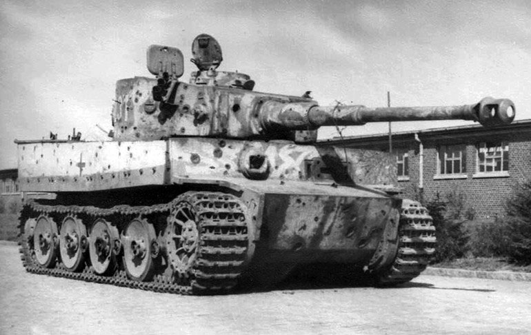 German Tiger tank