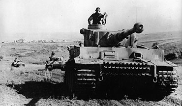 Every tank designed since has been influenced by the German Tiger tank.