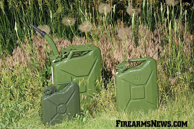 Transporting Fuel – the Jerry Can