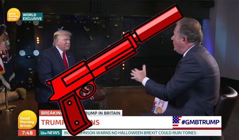 Trump: 'I Don't Like Silencers at All'
