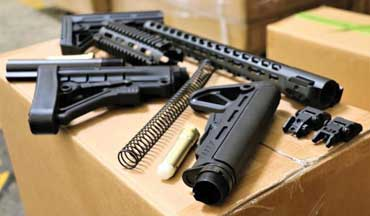 On August 22, U.S. Customs and Border Protection (CBP), in conjunction with the BATFE, seized 52,601 firearms parts in violation of the Chinese Arms Embargo in Los Angeles yesterday.