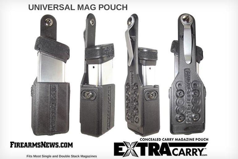 ExtraCarry Universal Concealed Carry Magazine Pouch for 9mm Mags