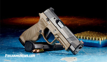 The Wilson Combat-SIG Sauer WCP320 pistol is now legal for IDPA Stock Service Pistol Class Competition and USPSA Production/Carry Optics Classifications.