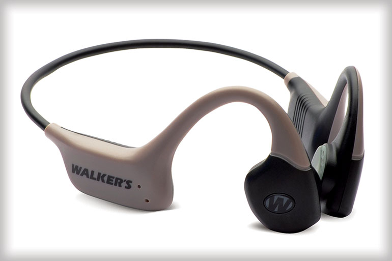 Walker's new Raptor offers a fresh approach to hearing enhancement & protection through bone-conduction technology which amplifies ambient sounds by transmitting sound waves through the bones in your head!