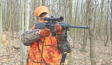 The Modern Answer for the Straight-Walled Rifle Cartridge Deer Hunting States!
