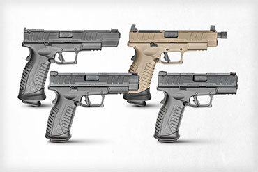 The new Springfield XD-M Elite 9mm pistol series is made up of four models that are designed to fit practically any role you might have for them.