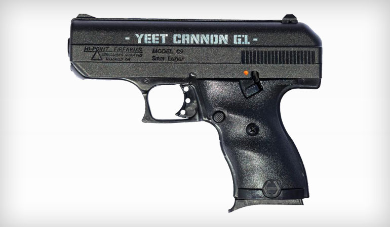 New from Hi-Point: The YEET Cannon