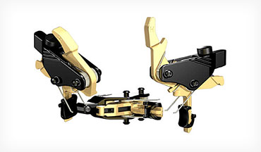 The HIPERFIRE PDI AR drop-in triggers pull at around 2 pounds and sport the unique HIPERSHOE that now mounts onto a curved bow, not just straight.