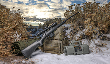 The Howa Carbon Stalker Mini-Action rifle is a perfect companion for numerous hunting applications from deer hunting to varmint hunting.
