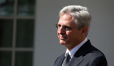 You might remember Garland as the judge Obama nominated for the Supreme Court back at the end of his term when Justice Antonin Scalia passed away.