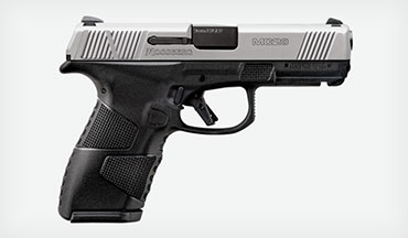 Following the phenomenal success of the MC1sc, Mossberg has announced the next in its series of feature-rich handguns: the MC2c (compact) 9mm pistol.