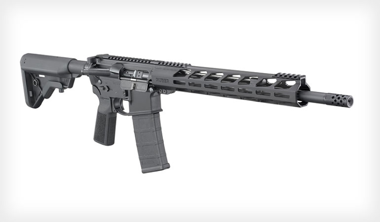 Ruger AR-556 with Lite Free-Float Handguard