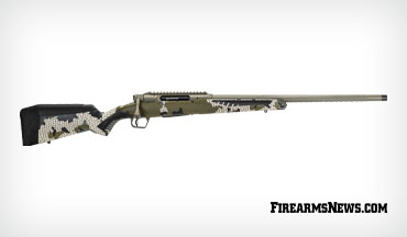 Savage Arms' straight-pull action IMPULSE rifle is extremely accurate, and comes with a plethora of features that will excite any big game hunter.