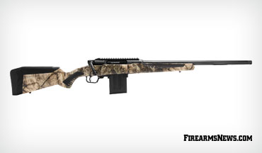 Savage Arms introduces its first straight pull rifle: the Impulse.