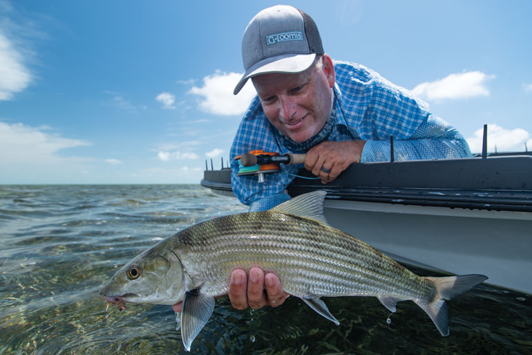Small Bonefish in the Florida Keys are Coming From the Gulf Stream