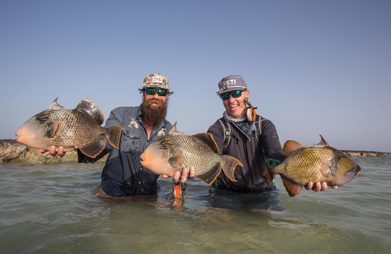 Chasing TriggerFish on the Nubian Flats