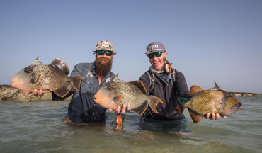 Oliver White travels to Sudan in search of Triggerfish on the Nubian Flats.