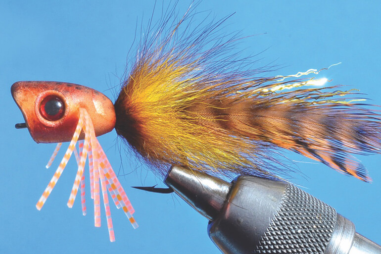 All these tricks can be put to use on poppers or sliders for anything with fins, from panfish to billfish.