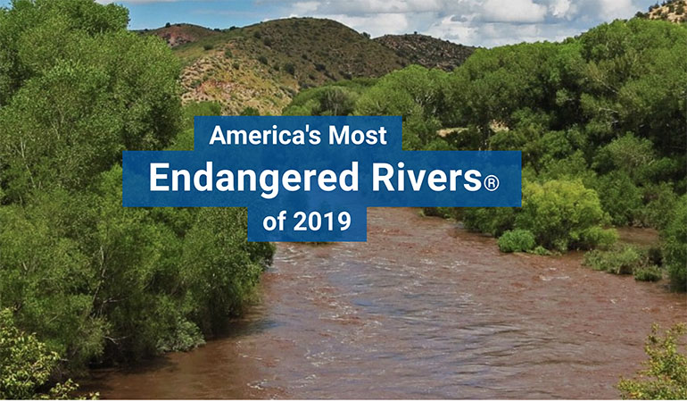 2019 Most Endangered Rivers