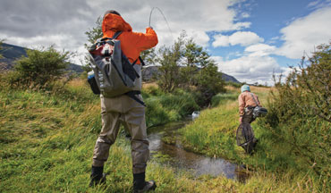 Small streams are great playing fields for serious fly fishers.