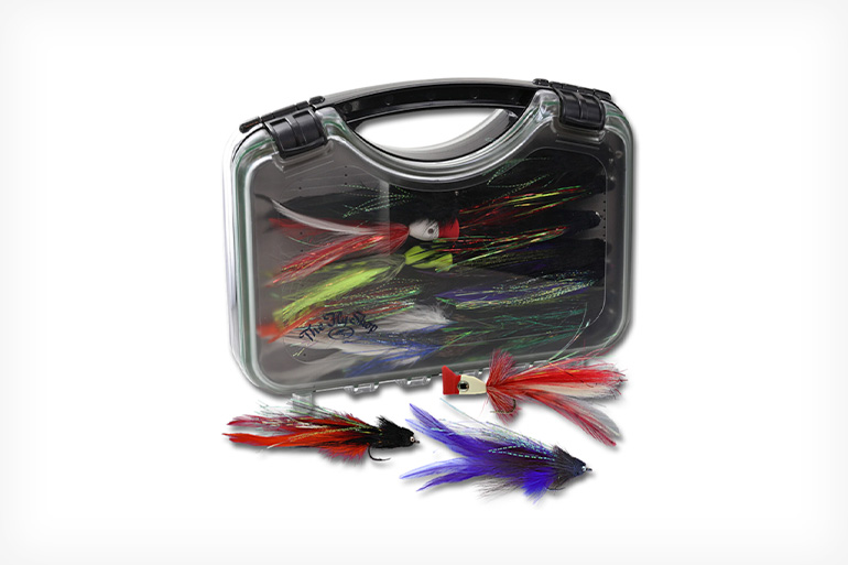 The Fly Shop Golden Dorado Fly Selection includes the perfect patterns for success on your next trip.