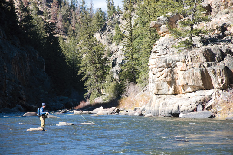 <p>The upper North Platte River is one of the longest undammed stretches of quality trout water in the Lower 48 states.</p>