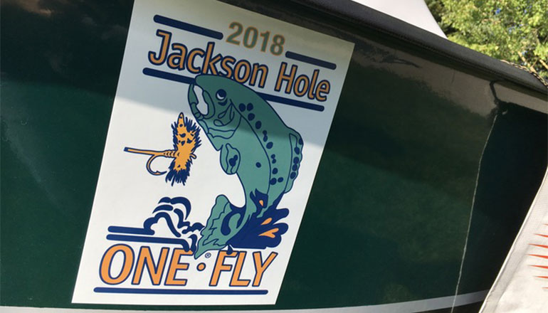 The 2018 Jackson Hole One Fly not only raises funds for conservation projects and organizations in the greater Jackson Hole region, but this year's event was a literally a 'win-win' for all.