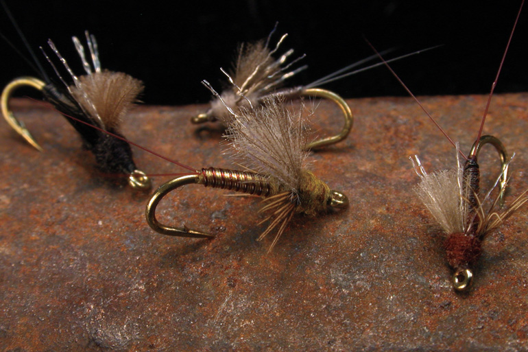 Craven's Juju Emerger is a snapshot of the transition between a mayfly nymph and its sub-adult form, the mayfly dun.
