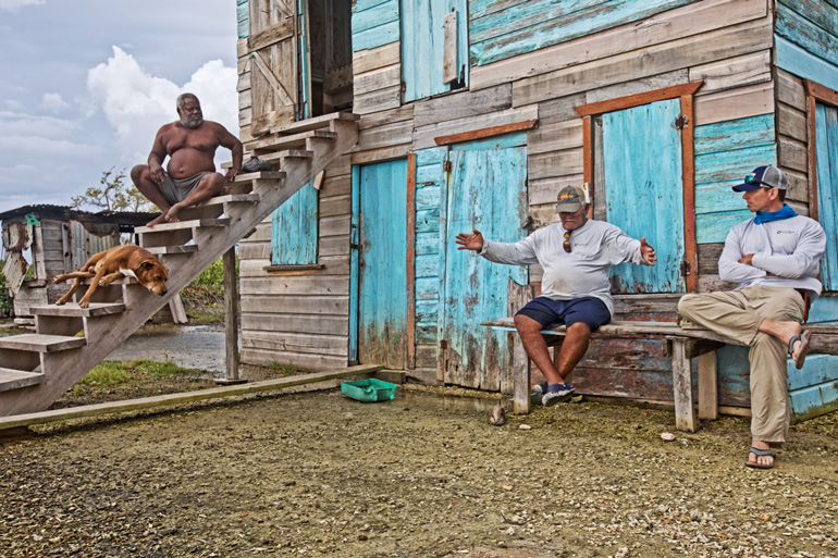 Blue Horizon Lodge owner Lincoln Westby built his legacy around the flats of Belize.