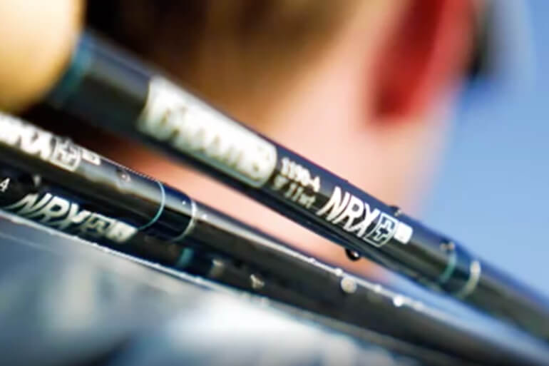 The new NRX+ rods feature a micro-taper design.