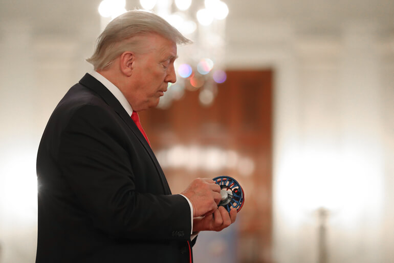 On July 2, 2020, Nautilus Reels was honored by President Trump at the White House at the Spirit of America Showcase.