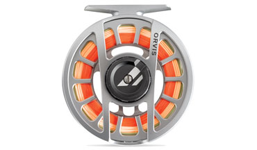 Refined, lighter weight large arbor fly reel.
