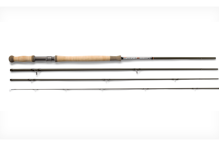 The Mission is Orvis's new premium, U.S.-made two-handed rod series.