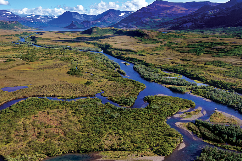 Alaska's best trout fishing is in roadless wilderness areas.