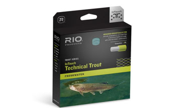 This line is built to present small flies gently to selective trout at a distance.