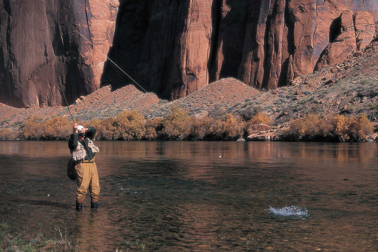 Some of the best scud fishing occurs during higher flows, or periods of extreme variation.