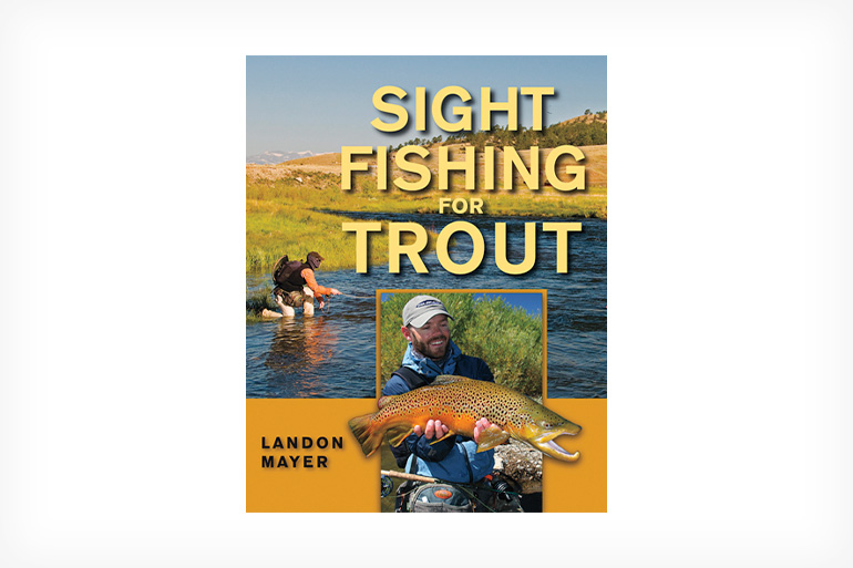 This is the primary premise of Mayer's book—to become a trout predator by first spotting and then stalking your prey.