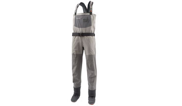 The new Gore-Tex Pro Shell material is what drove the redesign of the Simms G4 Pro Waders.