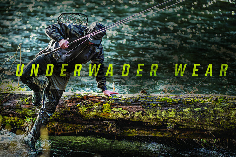 What you wear underneath makes all the difference in how waders perform.