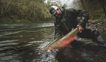 Pursuing steelhead with a fly is in many ways an anomaly.