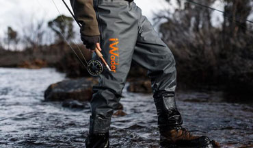 The official wader of the 39th FIPS-Mouche World Fly Fishing Championship in 2019.