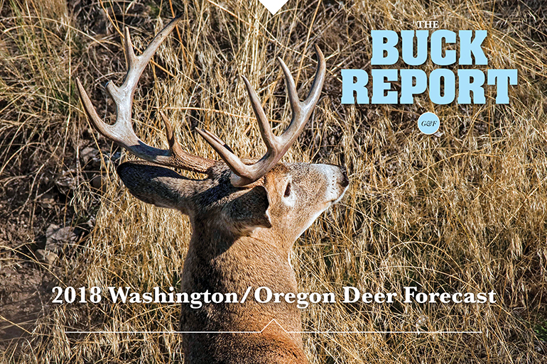 2018 Washington and Oregon Deer Forecast