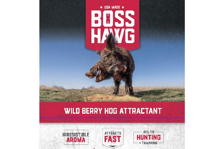 Boss Buck Offers New Hog Attractant
