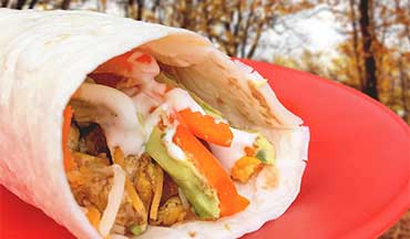 For a quick camping meal with minimal effort and maximum satisfaction, make this Backcountry Breakfast Wraps Recipe.