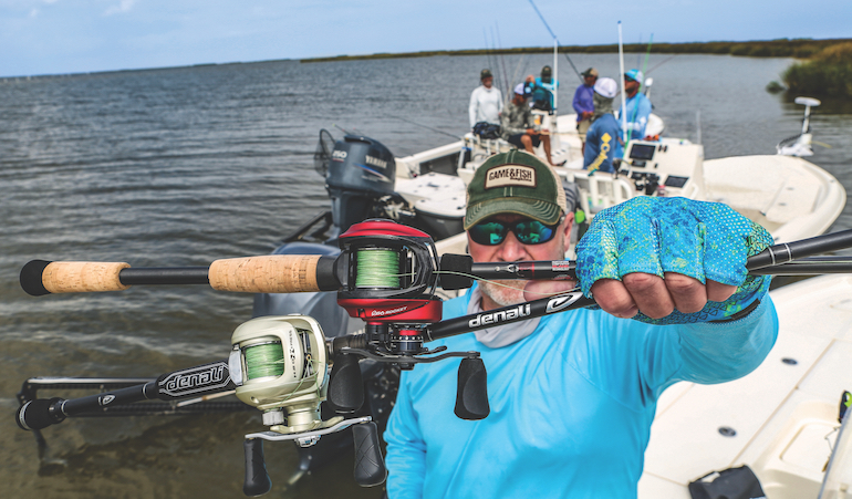 Check out how the Denali Fission and Academy Mettle HD fared against other new-for-2019 baitcasting gear.