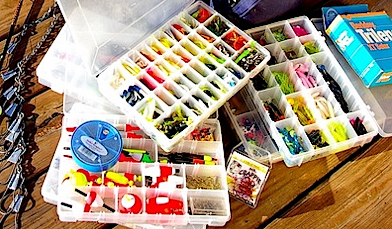 How to Stuff a Crappie Tacklebox