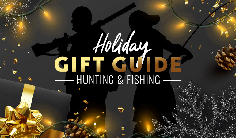 Here are 30 gift ideas for anglers and hunters that are sure to please.