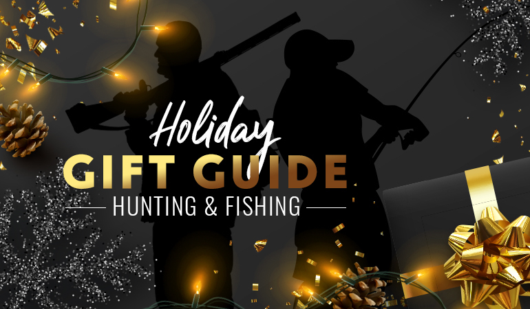 Our editors uncover dozens of gift hunting and fishing gifts for Christmas.