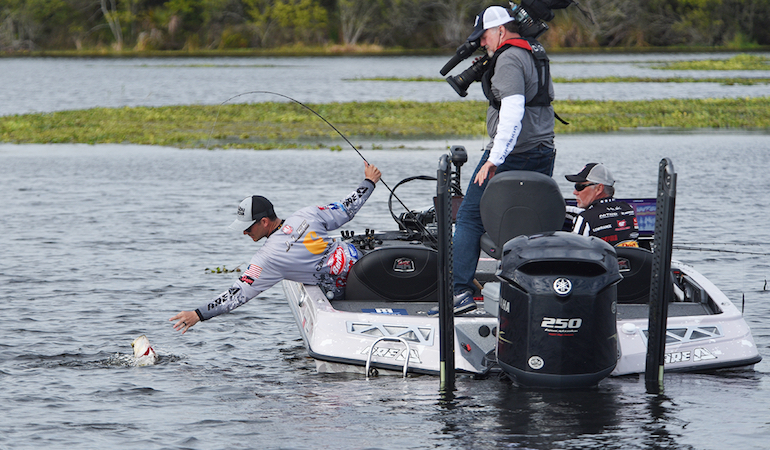 Jordan Lee Grabs Inaugural MLF Bass Pro Tour Title